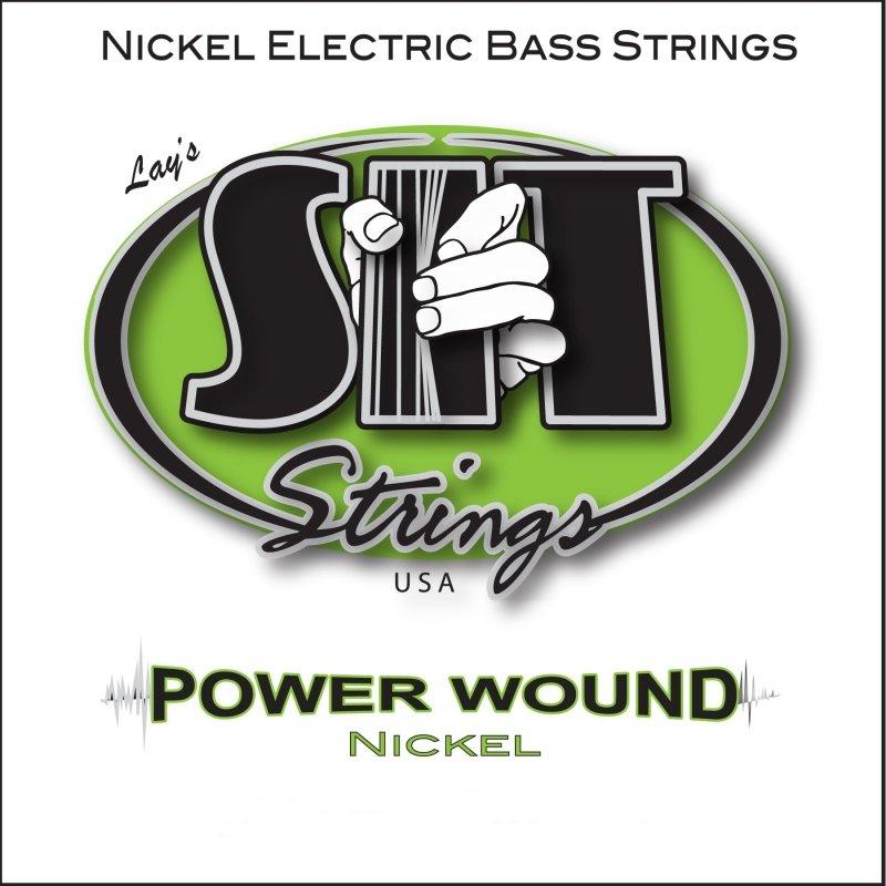 SIT Strings NR40100L Custom Light Power Wound Nickel Bass Guitar Strings