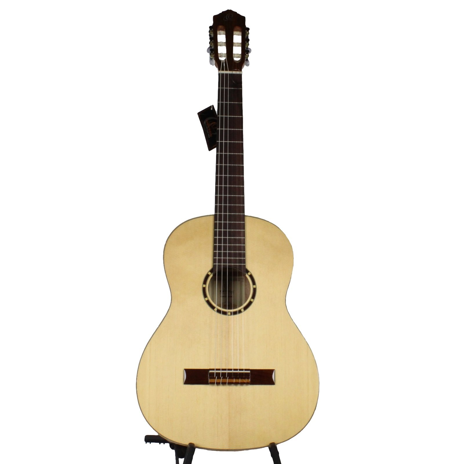Ortega Family Series R121G Classical Guitar, 4/4 Size, Glossy