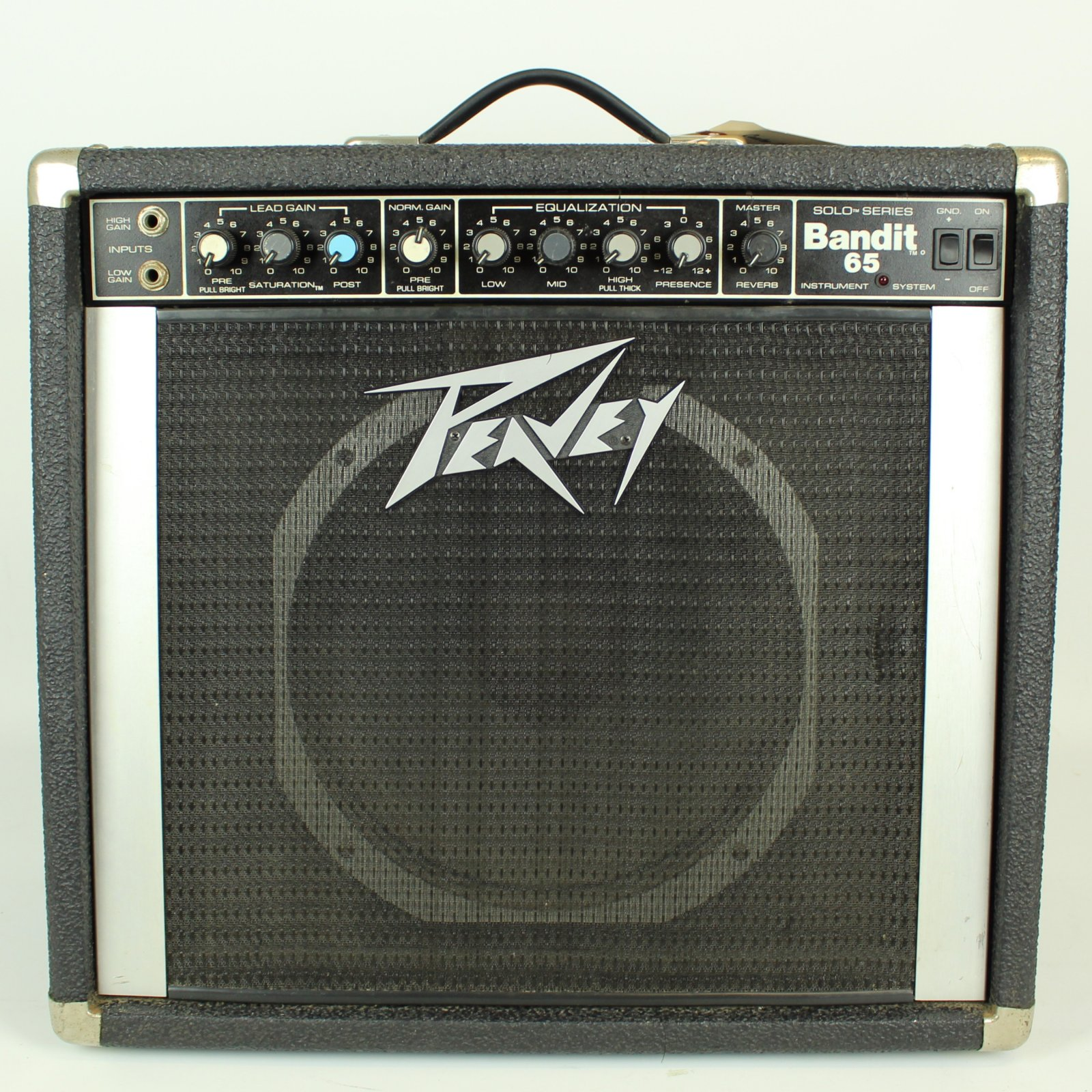 Peavey Bandit 65 Solo Series 65-Watt 1x12 Guitar Combo Amp w/ Footswitch (USED)