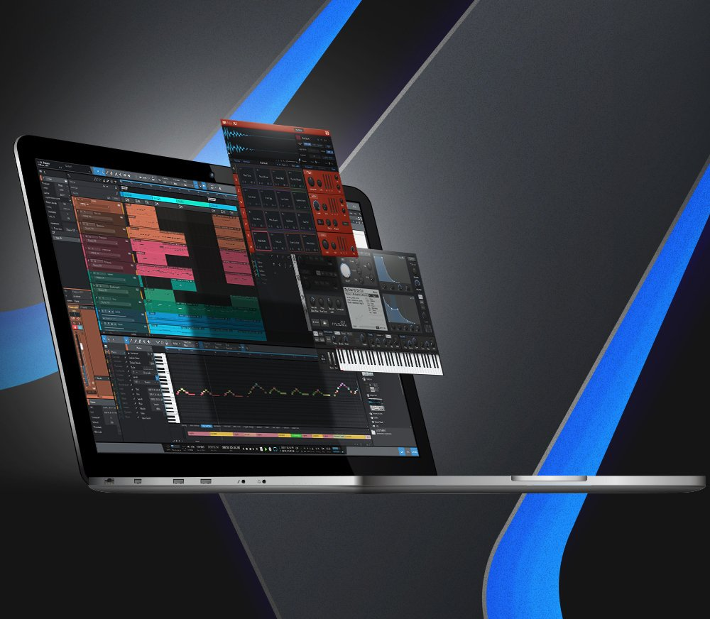 WORLD-CLASS RECORDING SOFTWARE INCLUDED
