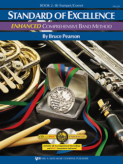 Standard of Excellence (SOE) ENHANCED Book 2 - Trumpet