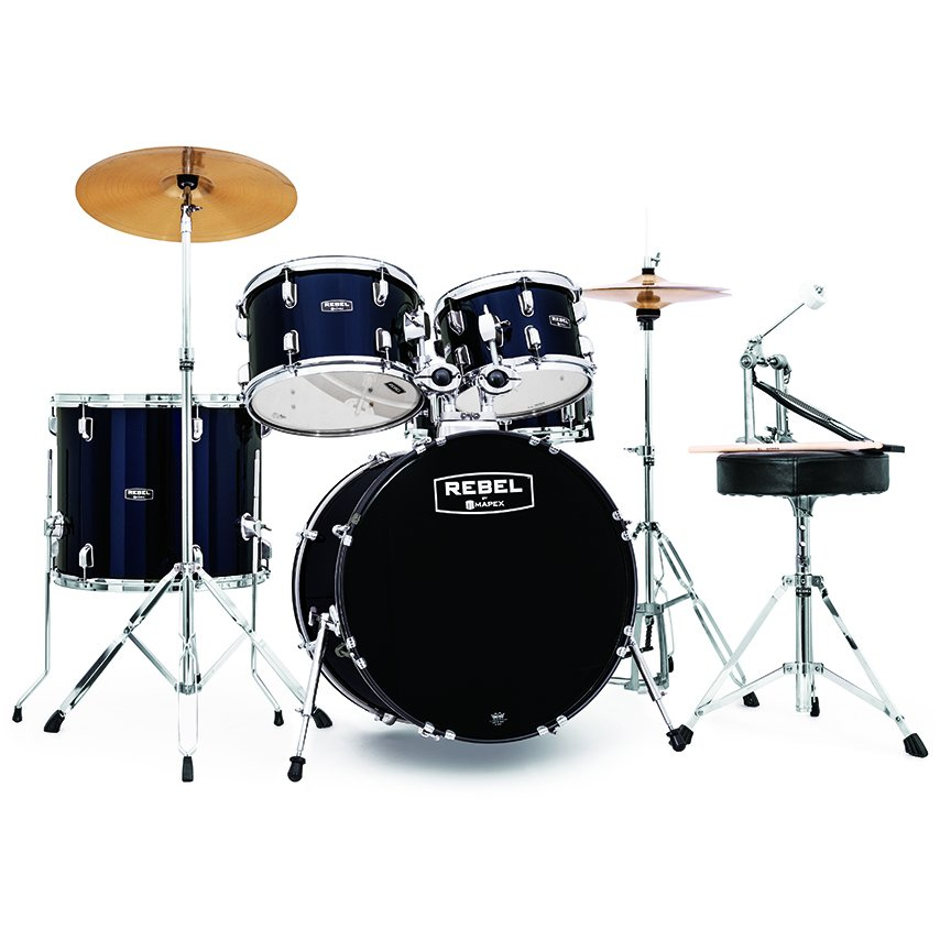 Mapex Rebel 5-Piece Complete Kit w/ 20 Bass Drum
