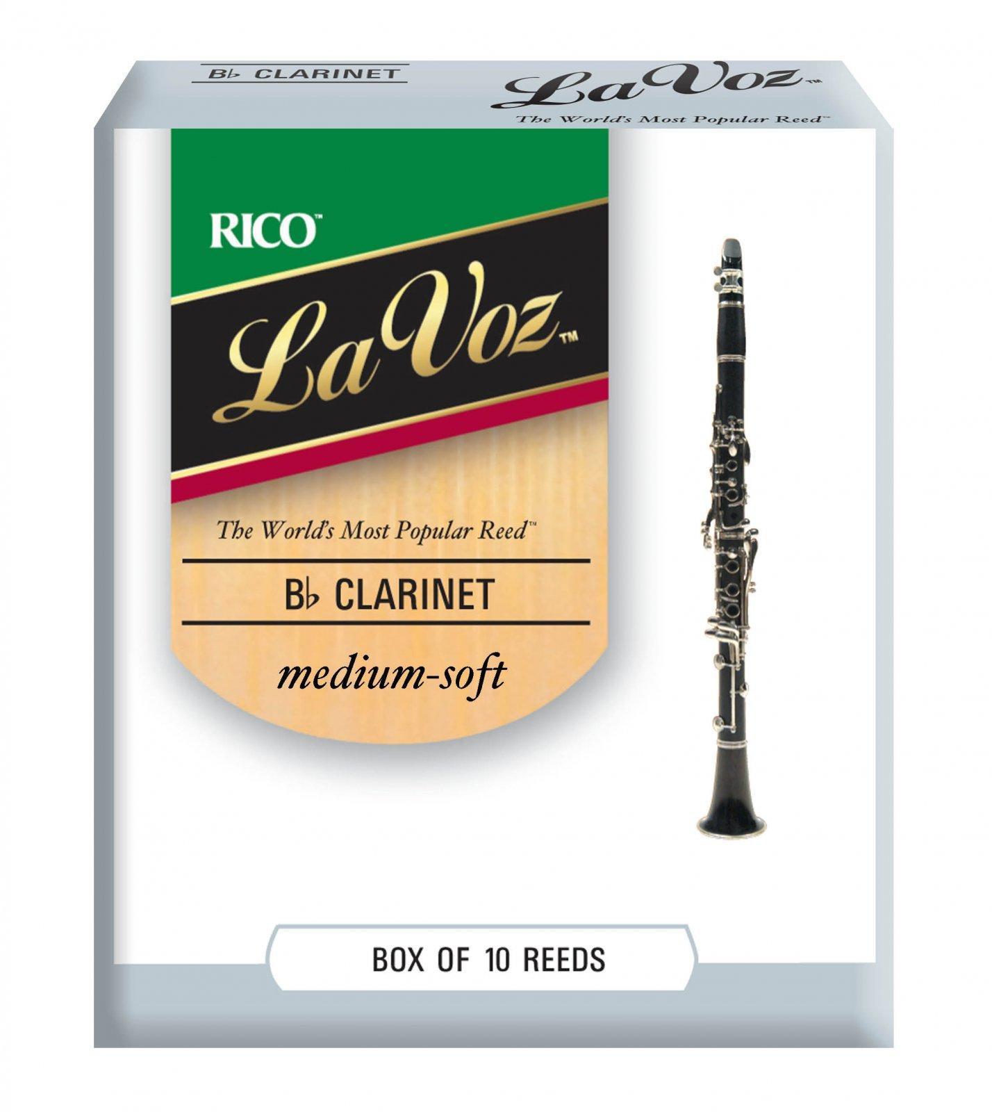 La Voz Bb Clarinet Reeds, 10-Pack