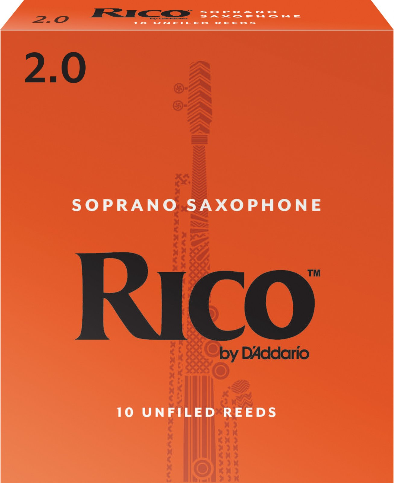 Rico by D'Addario Soprano Saxophone Reeds, 10-Pack