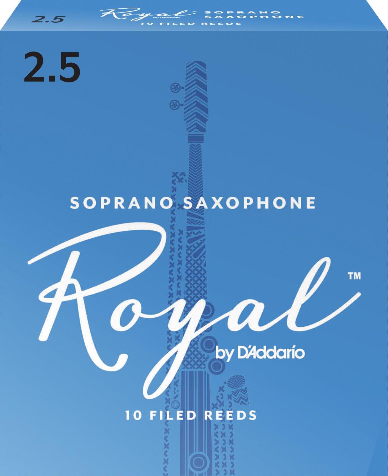 Rico Royal by D'Addario Soprano Saxophone Reeds, 10-Pack