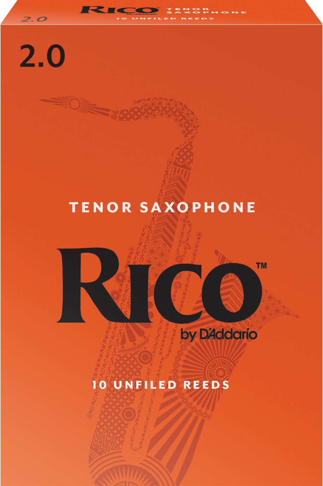 Rico by D'Addario Tenor Saxophone Reeds, 10-Pack