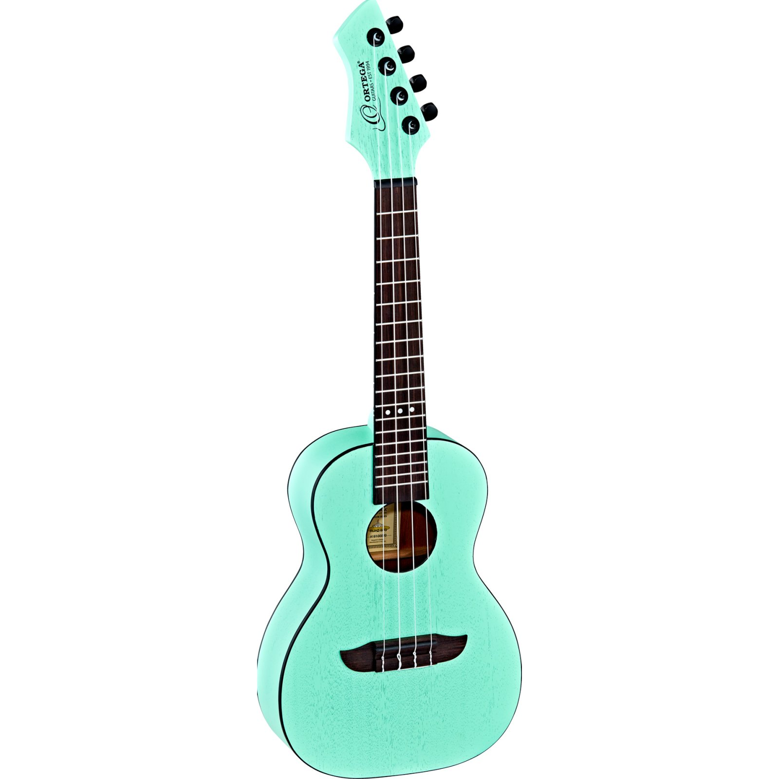 Ortega Horizon Series RUHZ-SFG Concert Ukulele, Sea Foam Green