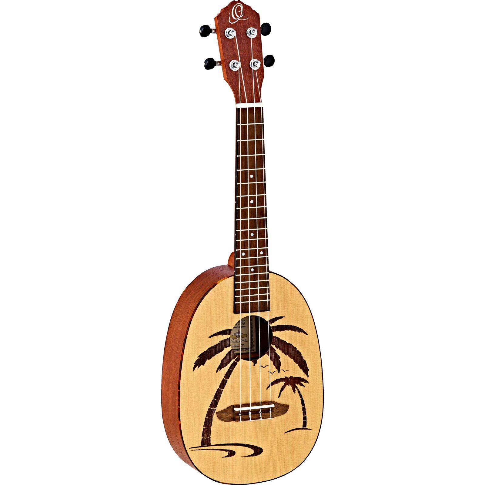 Ortega Pineapple Series RUPA5 Concert Ukulele