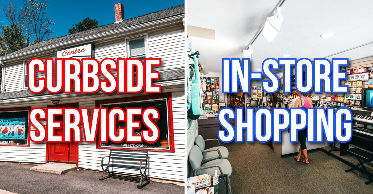 Safe Curbside Services In Store Shopping