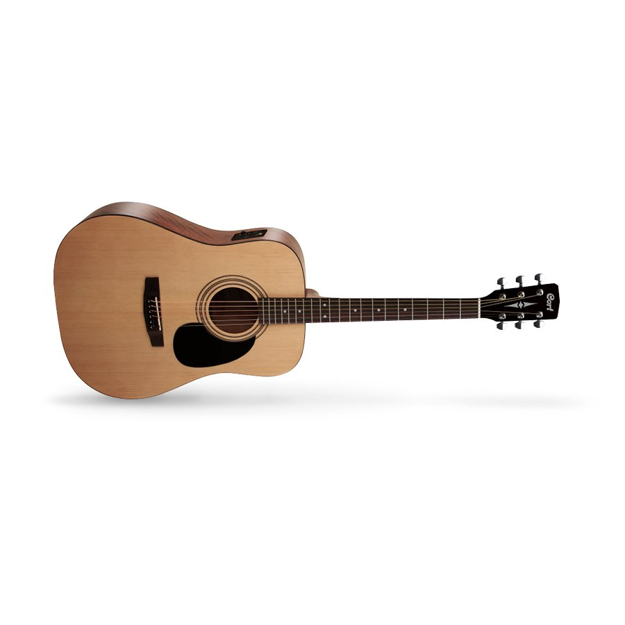 Cort Standard Series AD810E OP Acoustic Electric Guitar, Open Pore