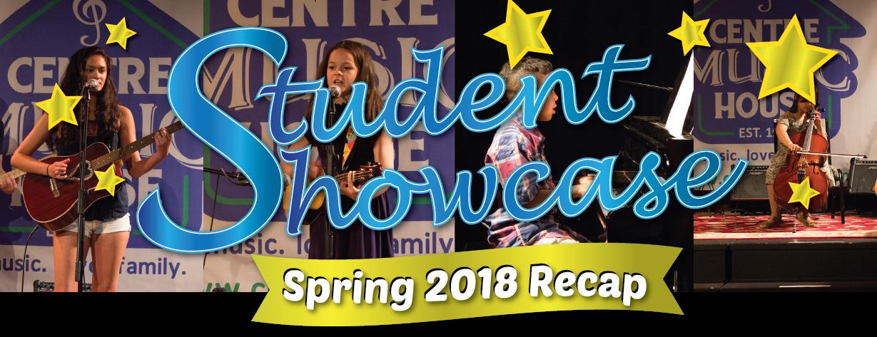 Student Showcase Spring 2018 Recap