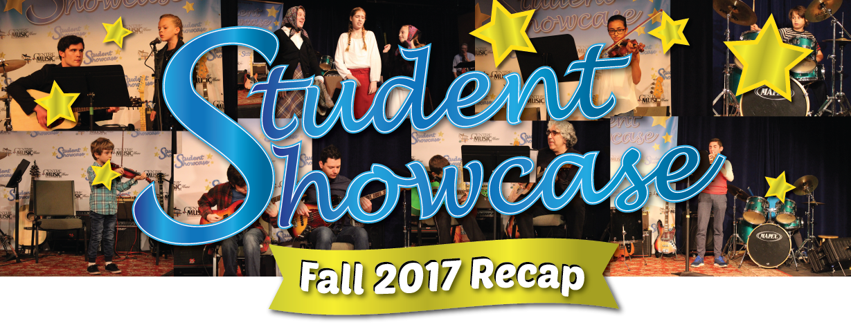 Student Showcase Fall 2017 Recap