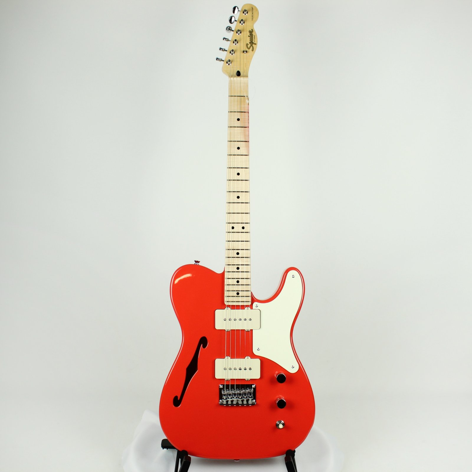 Squier Paranormal Cabronita Telecaster Thinline, Fiesta Red (USED)