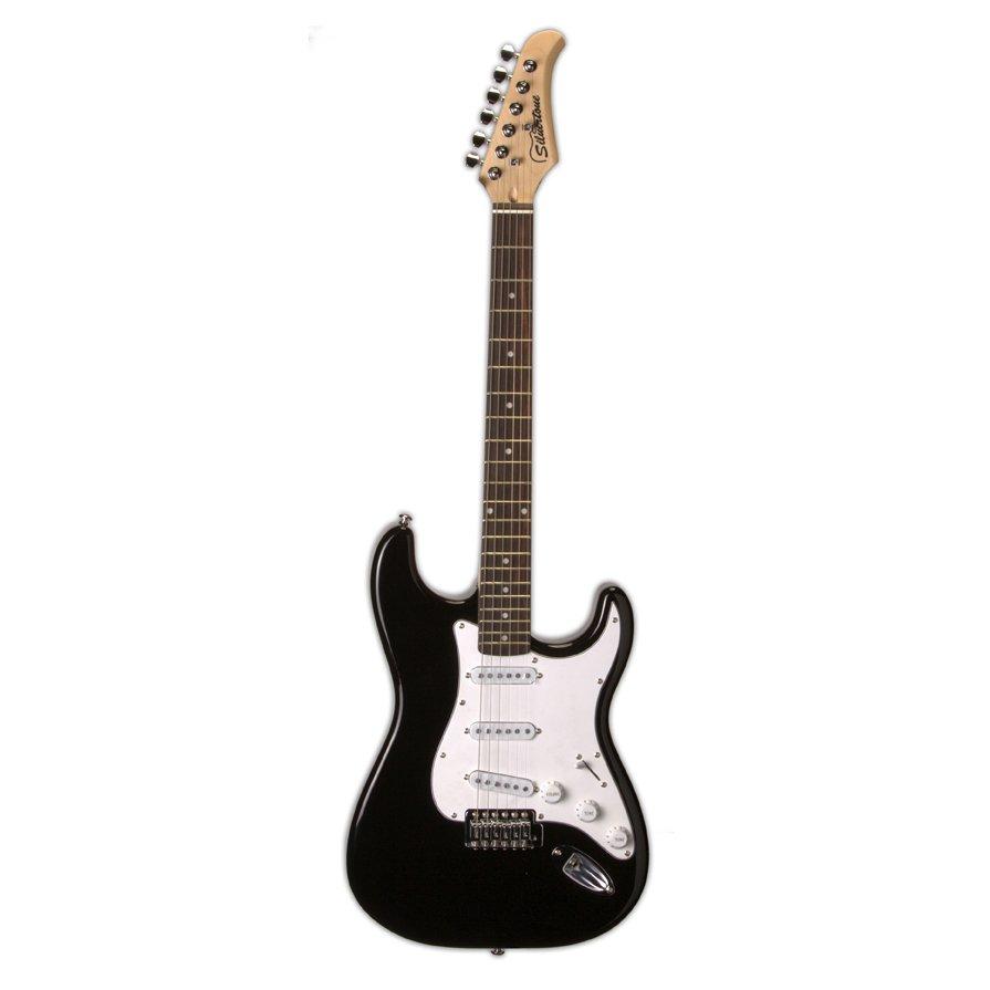 Silvertone Revolver SS15 Electric Guitar, Black (USED)
