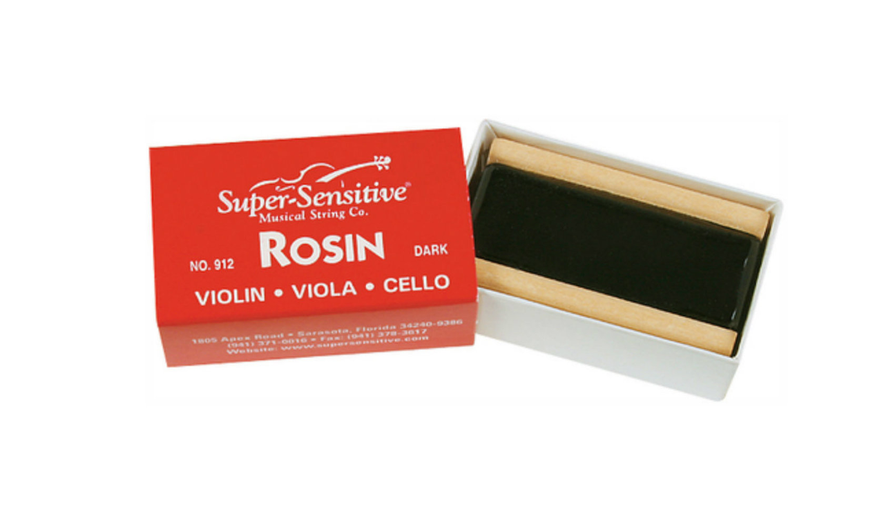 Super Sensitive Violin Rosin, Dark