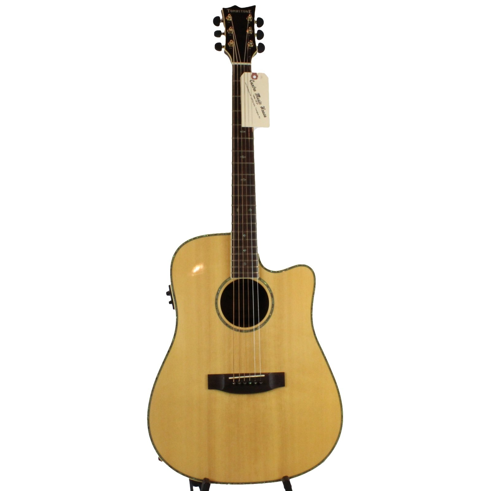 Tombstone by ESP/LTD TSD-430E Acoustic-Electric Guitar (USED)