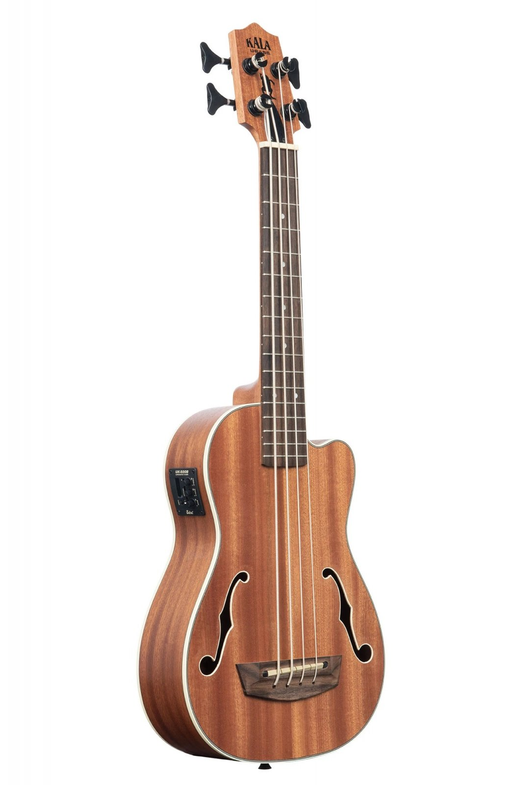 Kala UBASS-JYMN-FS Journeyman Acoustic-Electric U-Bass with F-Holes