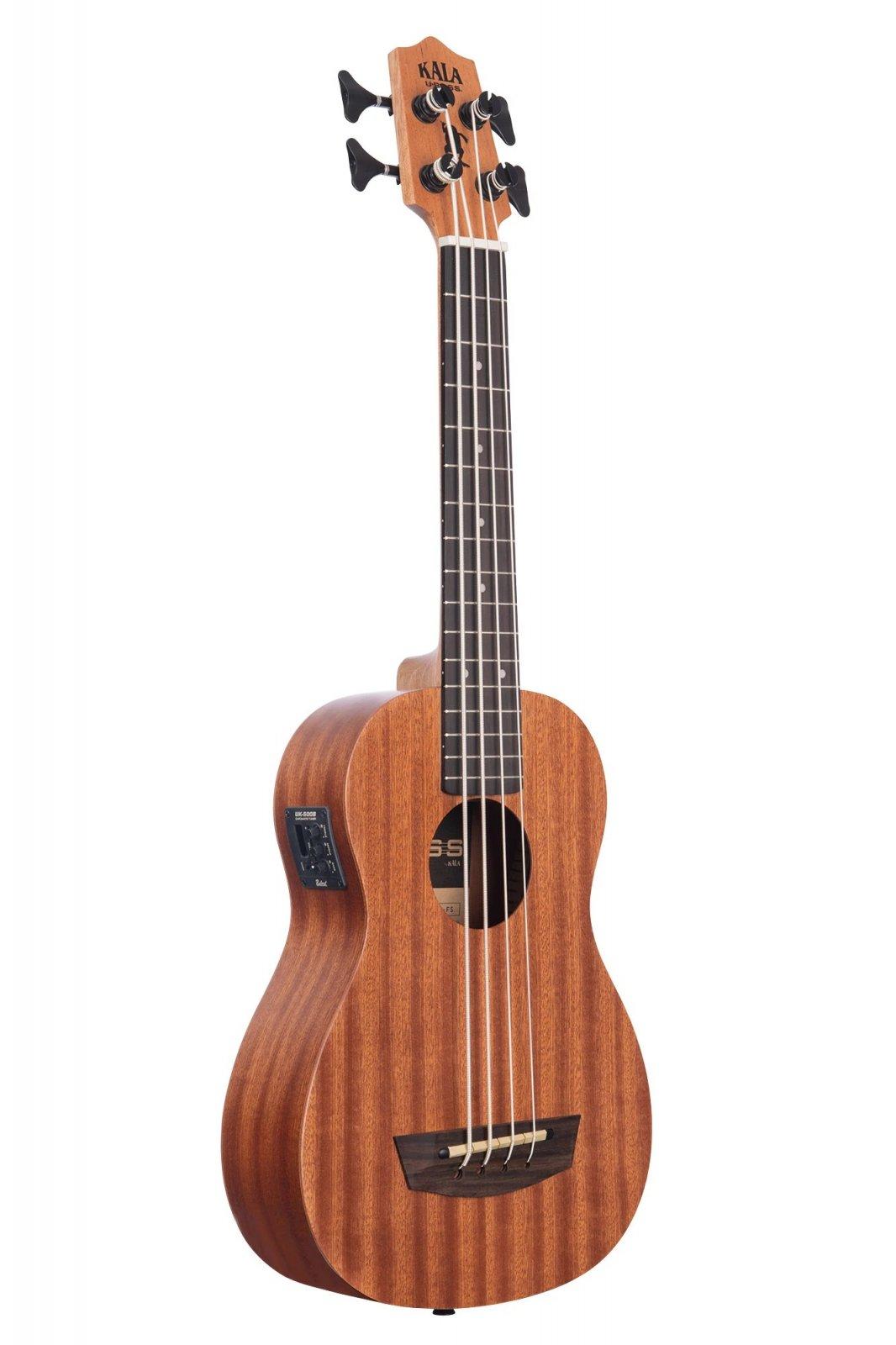 Kala UBASS-WNDR-FS Wanderer Acoustic-Electric U-Bass Includes Gig Bag