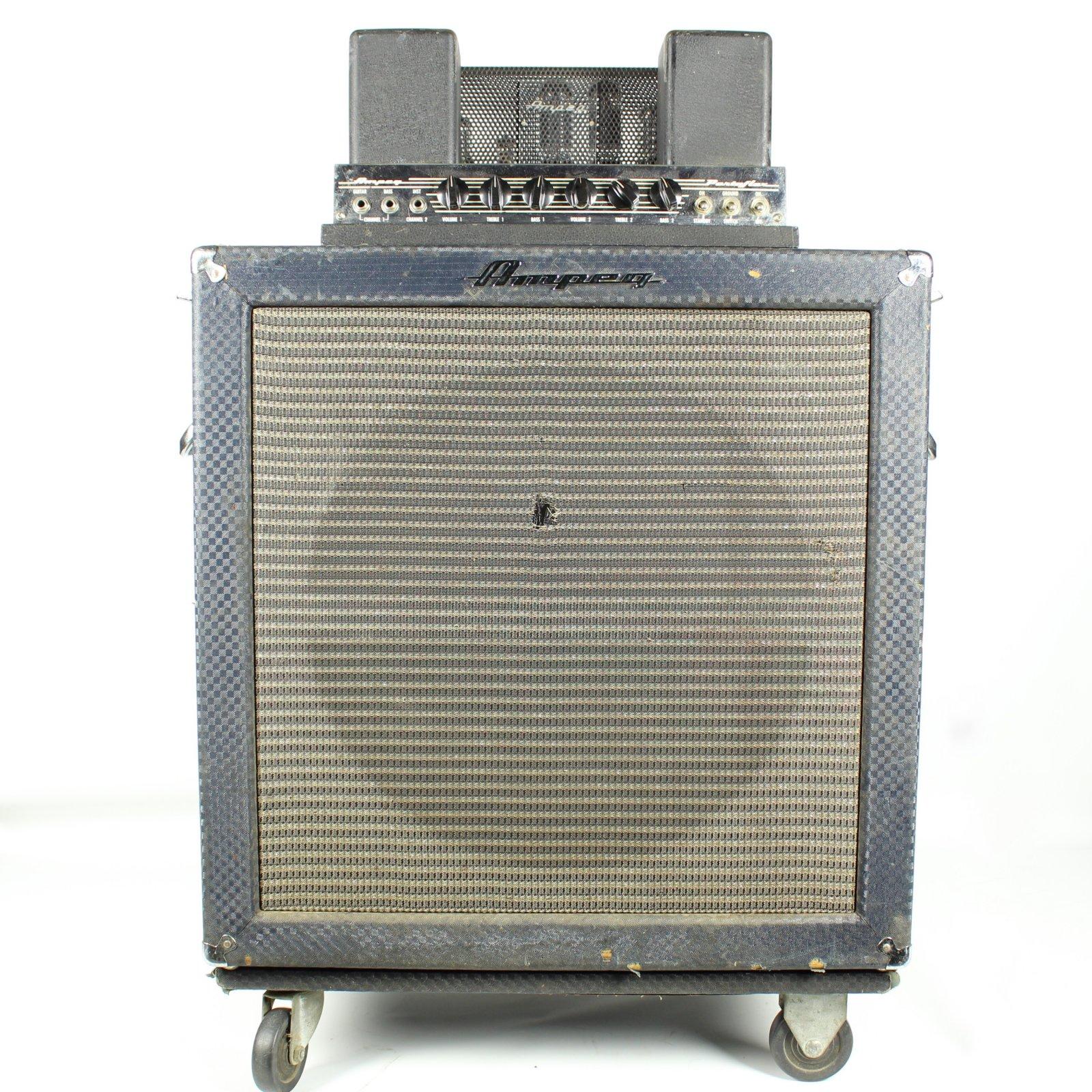 Vintage 1965 Ampeg B-18-N Portaflex Fliptop Bass Amplifier, SN: 039031 (USED)