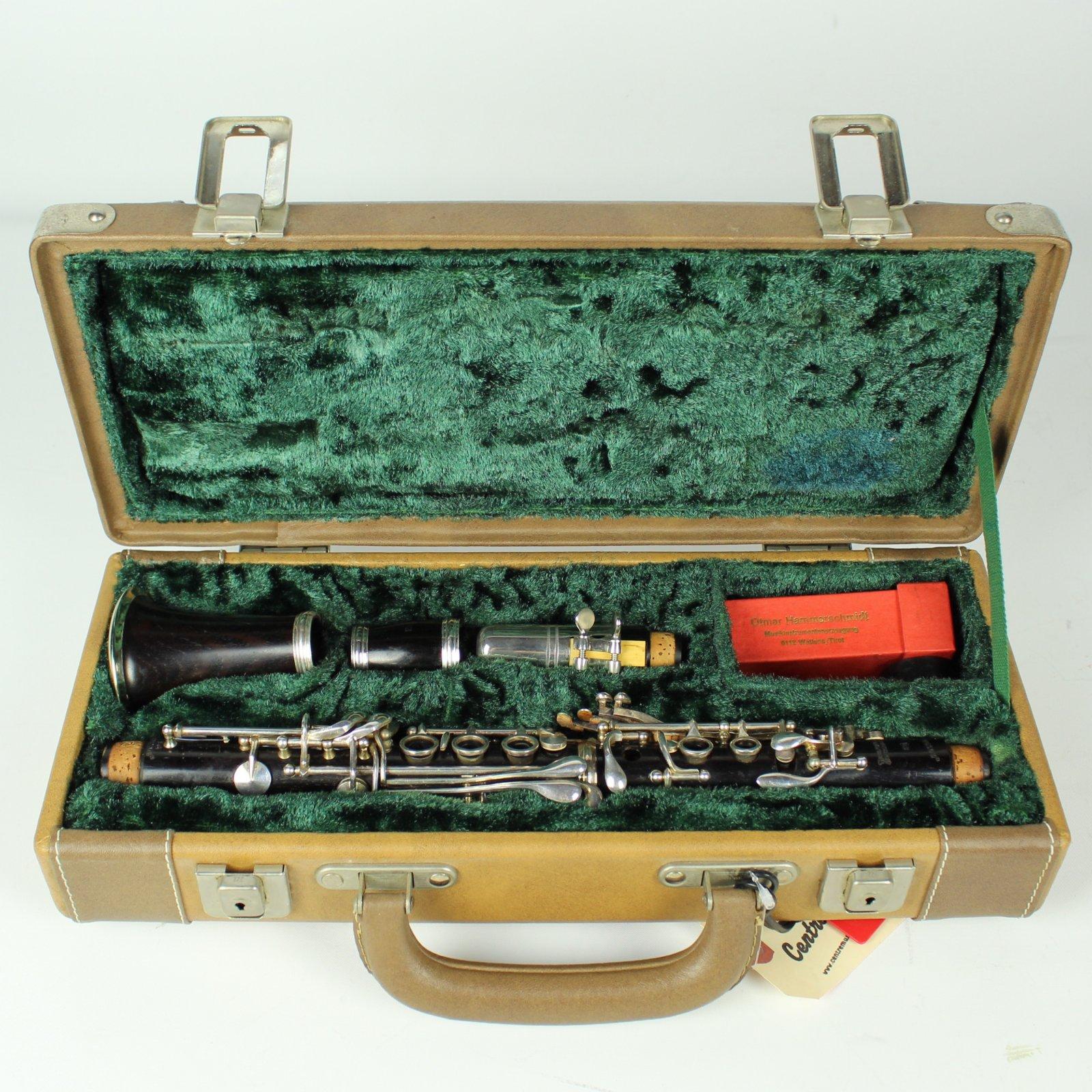 Vintage Klingson Otmar Hammerschmidt Model OH460 Eb Clarinet (USED)