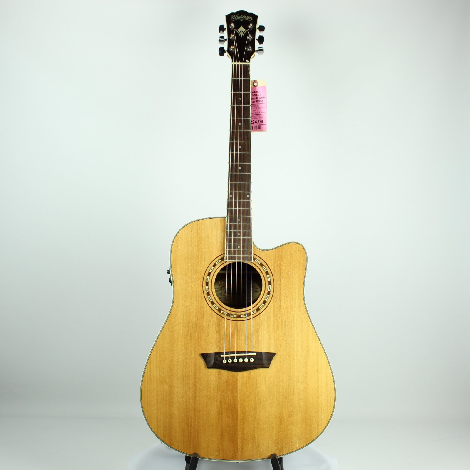 Washburn WD20SCE Acoustic-Electric Guitar (USED)