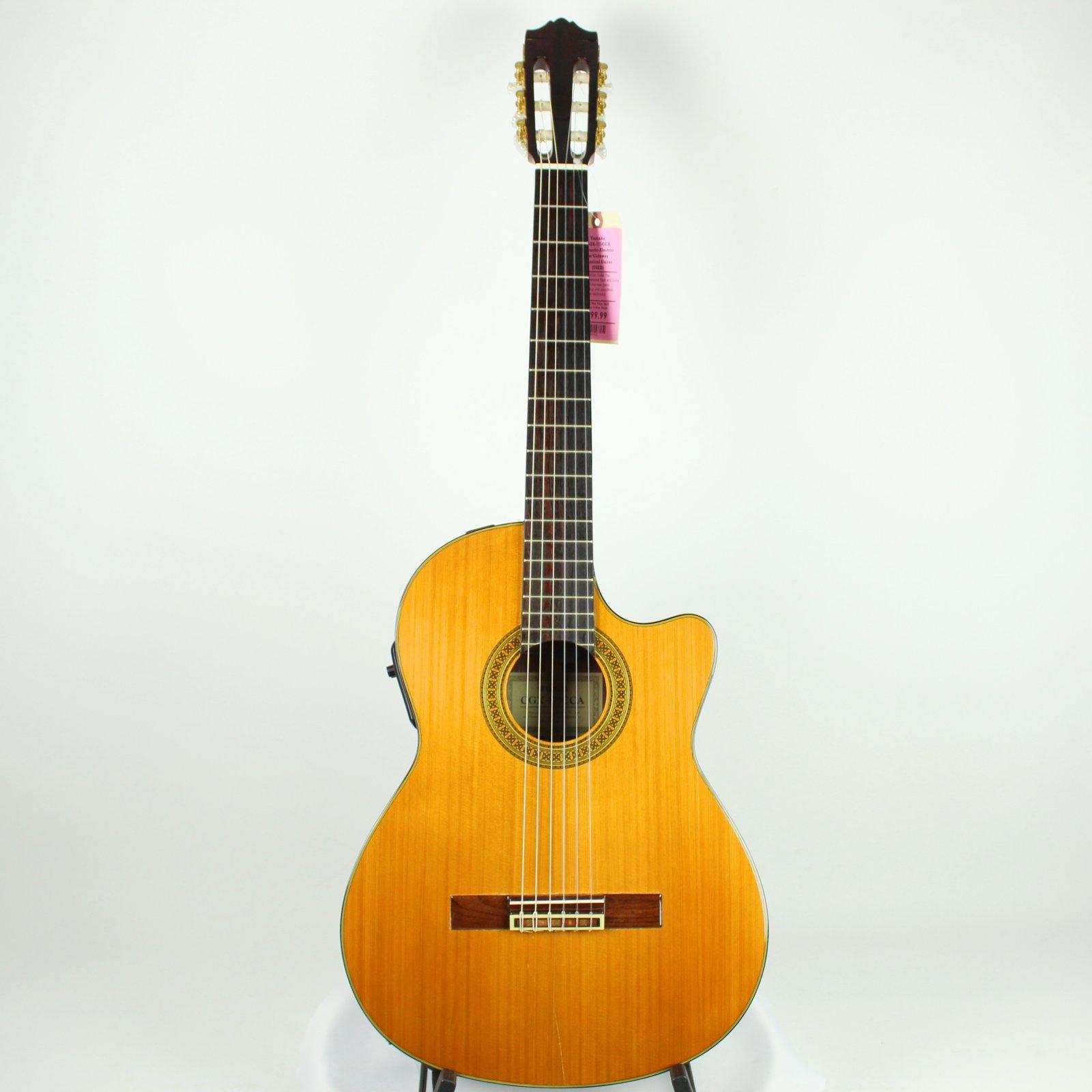 Yamaha CGX-171CCA Acoustic-Electric Cutaway Classical Guitar (USED)
