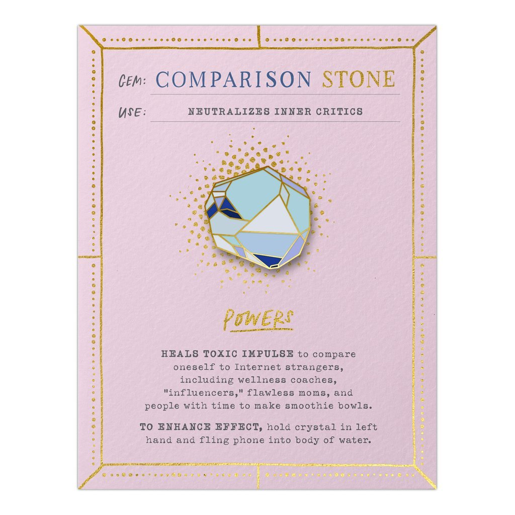 Emily McDowell - Gem Card Comparison Stone