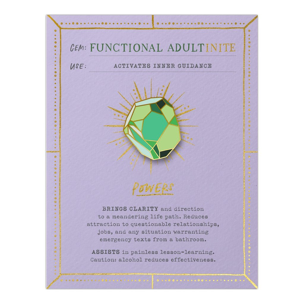 Emily McDowell - Gem Card Functional Adultinite