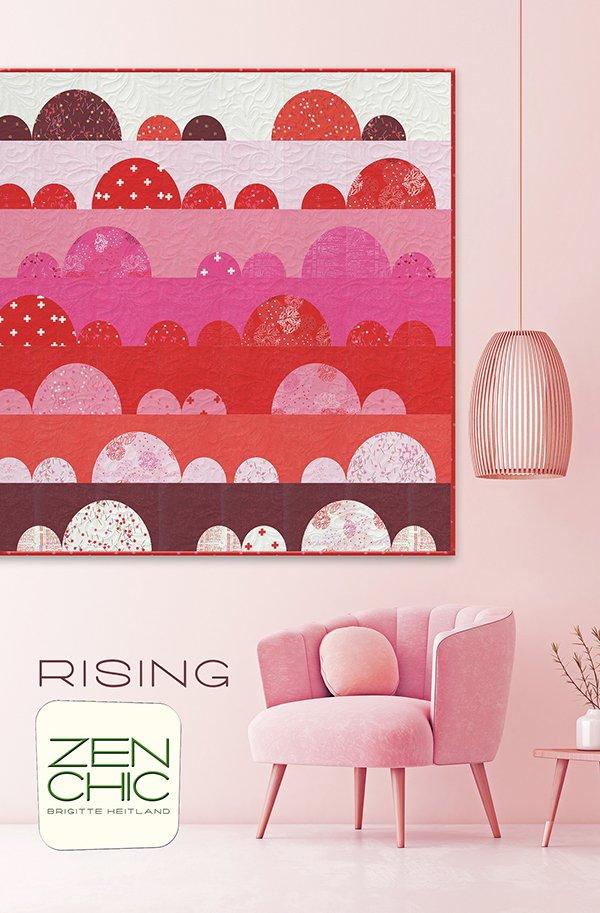 Zen Chic - Rising Quilt Pattern