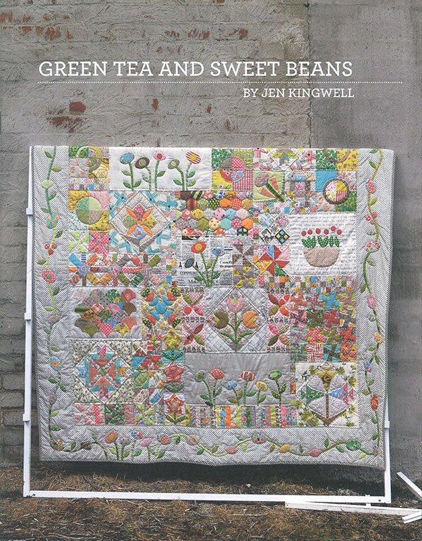 Jen Kingwell - Green Tea And Sweet Beans Book