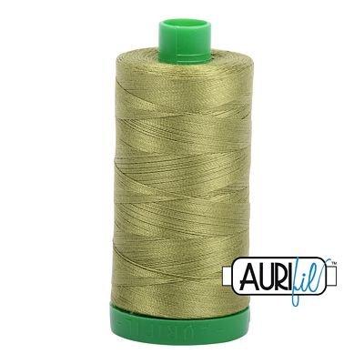 Aurifil Thread Mako 40wt 1000m (Olive Green)