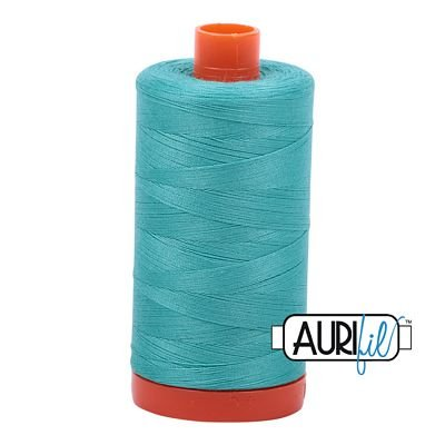 Aurifil Thread Mako 50wt 1300m (Light Jade)