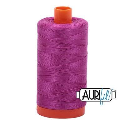 Aurifil Thread Mako 50wt 1300m (Magenta)