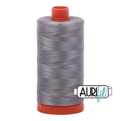Aurifil Thread Mako 50wt 1300m (Olive Green)