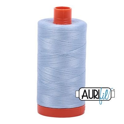 Aurifil Thread Mako 50wt 1300m (Light Robins Egg)