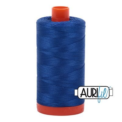 Aurifil Thread Mako 50wt 1300m (Medium Blue)