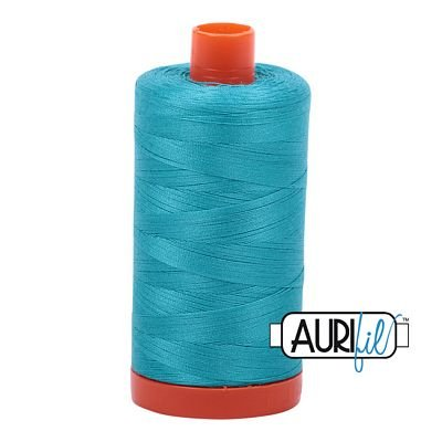 Aurifil Thread Mako 50wt 1300m (Turquoise)