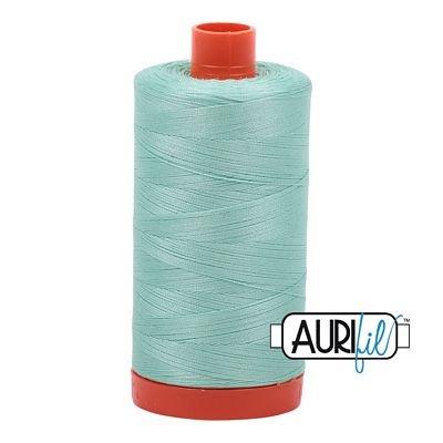 Aurifil Thread Mako 50wt 1300m (Medium Mint)