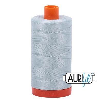 Aurifil Thread Mako 50wt 1300m (Light Gray Blue)