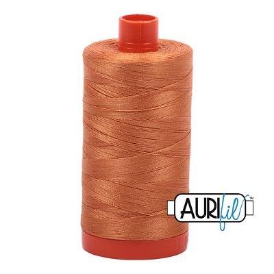 Aurifil Thread Mako 50wt 1300m (Medium Orange)