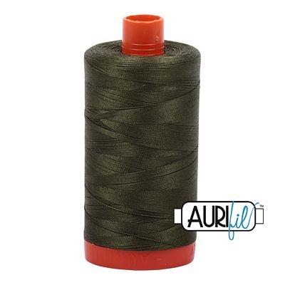 Aurifil Thread Mako 50wt 1300m (Medium Green)