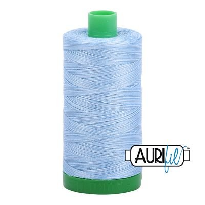 Aurifil Thread Mako 40wt 1300m (Var. Stone Washed Denim)