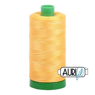 Aurifil Thread Mako 40wt 1300m (Golden Glow)