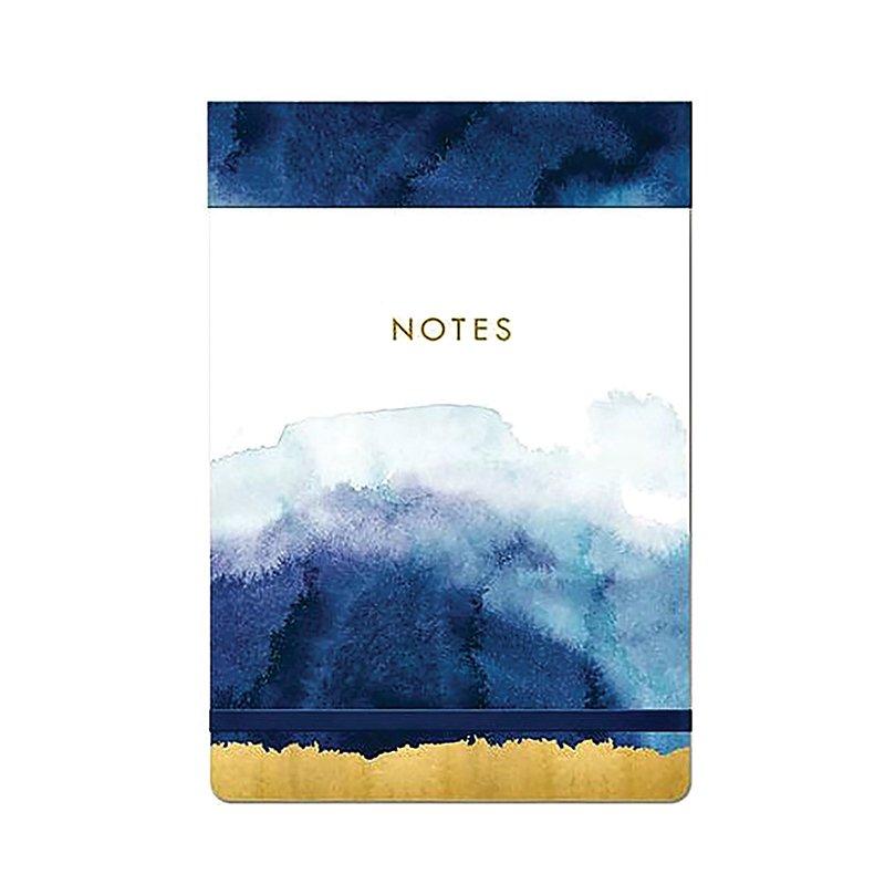 Note Pad Covered Large Indigo Blue - Lady Jayne #1