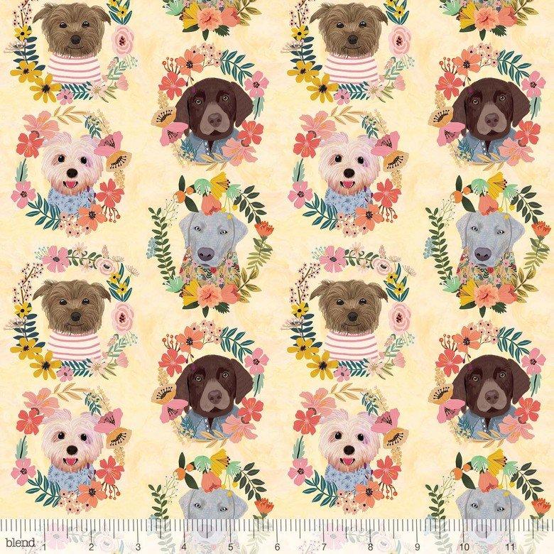 Mia Charro More Floral Pets - Puppie Wreath