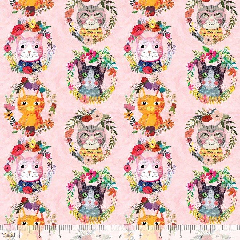 Mia Charro More Floral Pets - Kitty Wreath