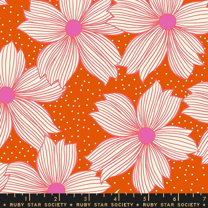 Crescent - Floral Night Bloom (Orange)