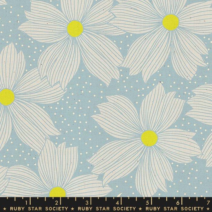 Crescent - Floral Night Bloom (Soft Blue)