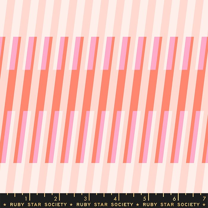 Ruby Star Society - Melody Miller - Clementine - Stripes ( Sunshine)