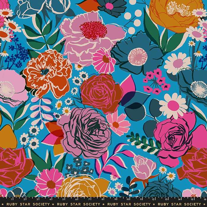 R.S.S. - Melody Miller - Rise - Bloom (Bright Blue) Wideback 108